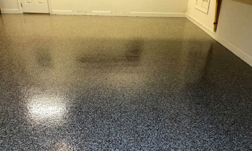 Grand Rapids epoxy garage floor coating
