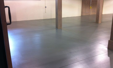 basement concrete floor epoxy