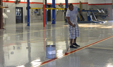 industrial epoxy flooring Kansas