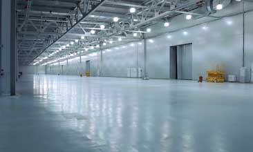 industrial epoxy floor covering