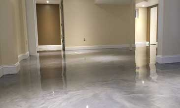 metallic epoxy floor Kansas City