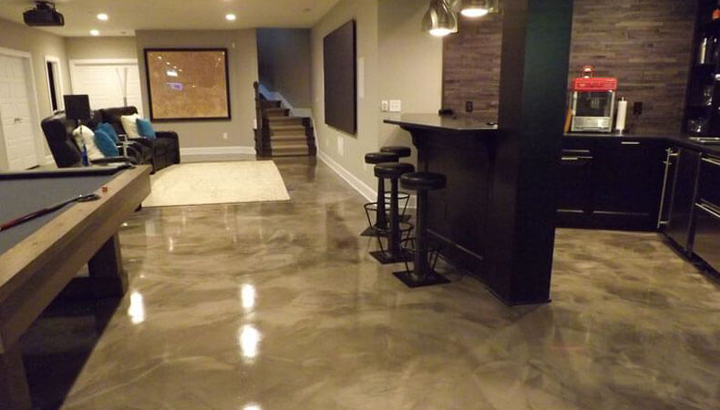Epoxy Flooring And Interior Design