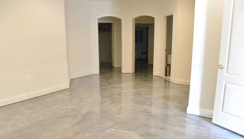 Epoxy In Living Areas