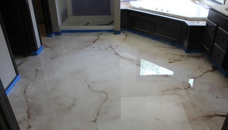 White Epoxy, Ultra Modern Design
