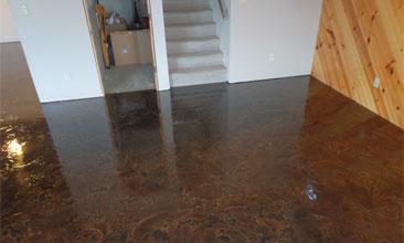 epoxy floor coating basement